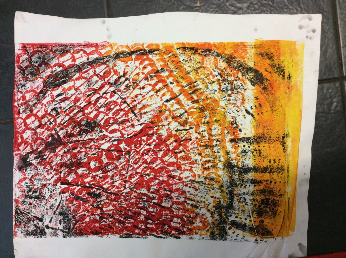 Print Process Collagraphy